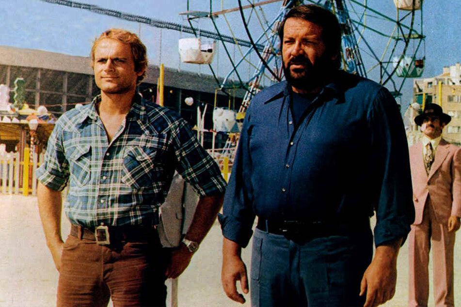 Ein kongeniales Duo: Fast zwanzig Filme drehten die Hau-Drauf-Schauspieler gemeinsam.