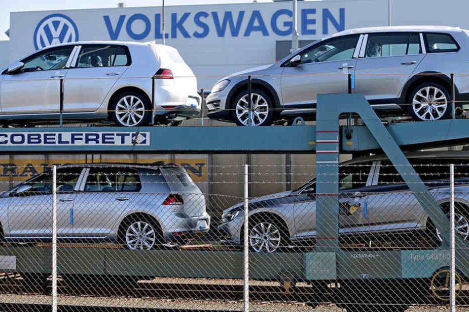 Das VW-Werk in Mosel werden kommende Woche weniger Autos verlassen.