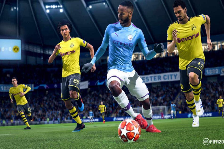 Die Virtuelle Bundesliga wird im Fußball-Videospiel FIFA 20 ausgetragen.