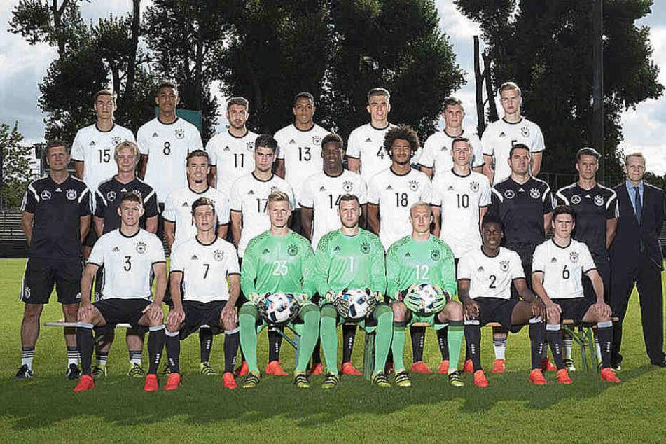 Die U20 Nationalmannschaft.