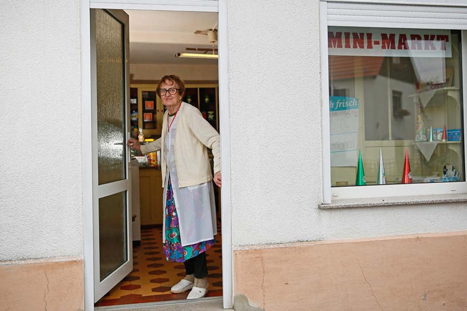 Verdienter Ruhestand: Annelies Hoppe (92) schloss ihren Laden nun für immer ab.