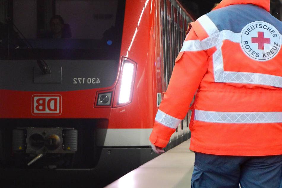 Der Angriff begann in einer S8 oder S9 von Frankfurt nach Rüsselsheim (Symbolbild).