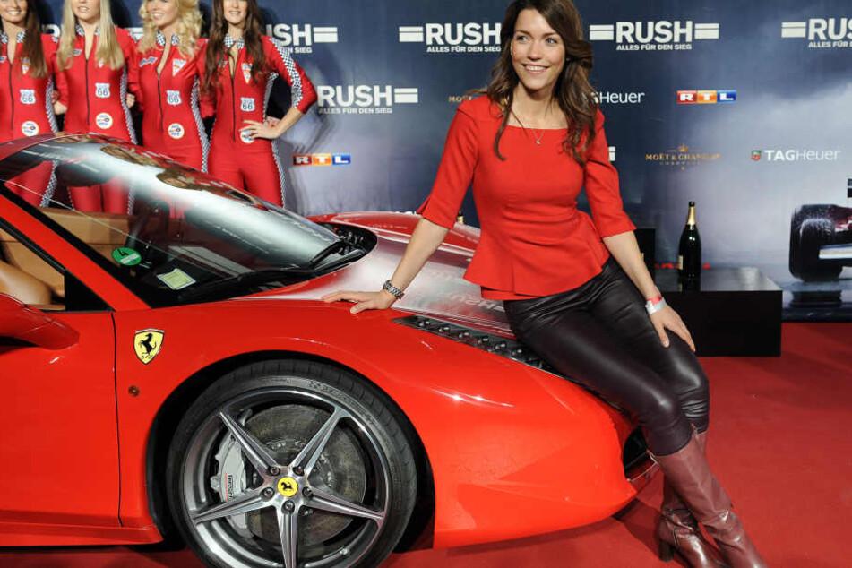 Vor ihrer Schwangerschaft präsentierte sich die RTL-Nachrichtensprecherin gerne in enger Kleidung.