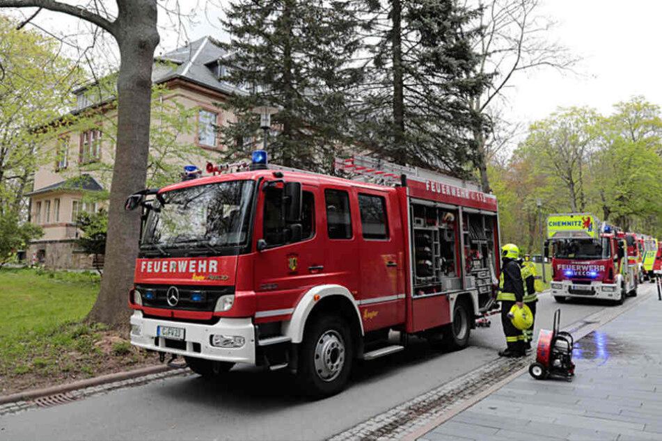 In der Flemmingstraße gab es am Dienstagnachmittag einen Großeinsatz der Feuerwehr.
