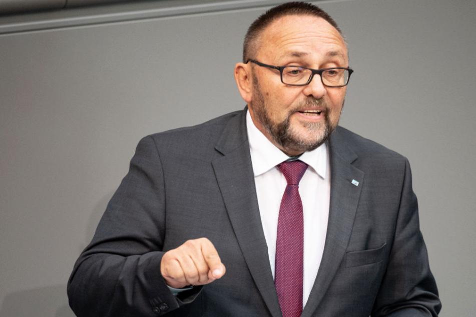 Frank Magnitz ist Landeschef der AfD in Bremen und Bundestagsabgeordneter.