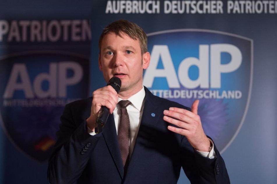 Sachsen-Anhalts Ex-AfD-Chef André Poggenburg.