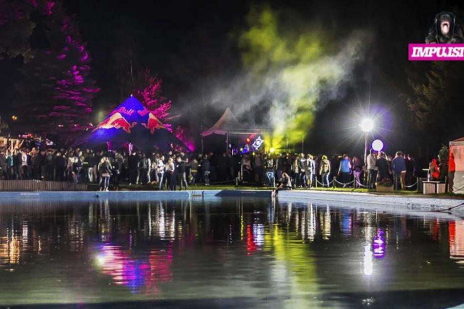 Das Open-Air-Spektakel Impulsiva - hier ein Szene aus 2016 - kann dieses Jahr nicht im Sonnenbad Rußdorf stattfinden.