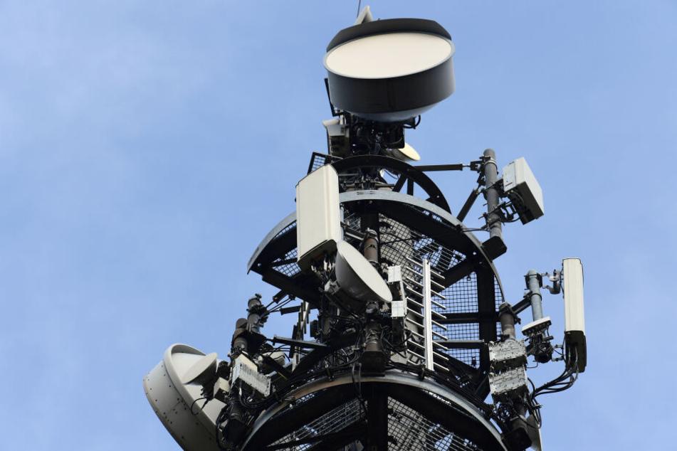 In Chemnitz gibt es bislang nur eine neue Mobilfunkantenne in Stelzendorf.
