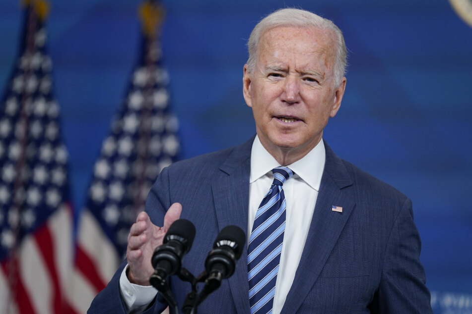 Joe Biden (78) spricht im Zusammenhang mit Hurrikan Ida von der Klimakrise.