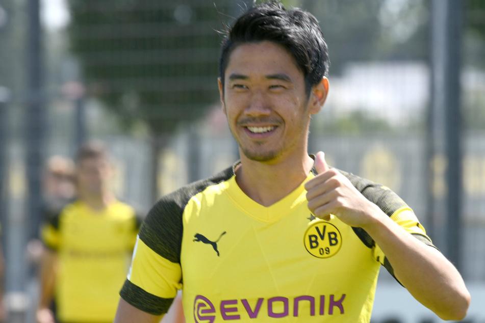 Fortuna Düsseldorf beschäftigte sich mit dem Ex-Dortmunder Shinji Kagawa (31).