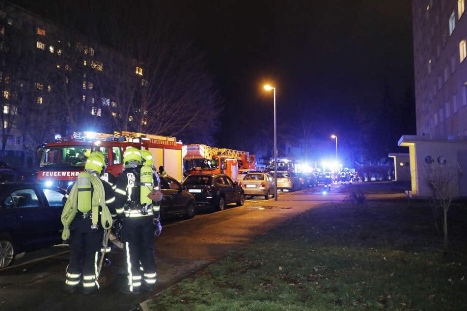 Chemnitz: Frau bei Küchenbrand in Chemnitz verletzt