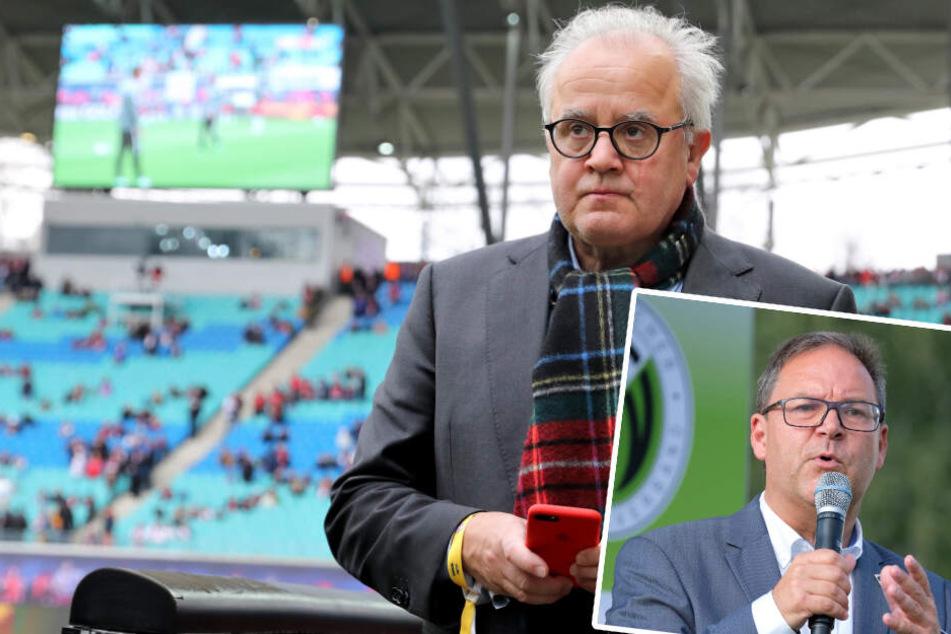 """""""Pläne über den Haufen geworfen"""": Sachsens Fußball-Chef kritisiert Keller-Bekanntgabe"""