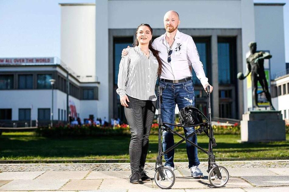 Bewegender Moment: Chemnitzerin trifft ihren Stammzellen-Empfänger
