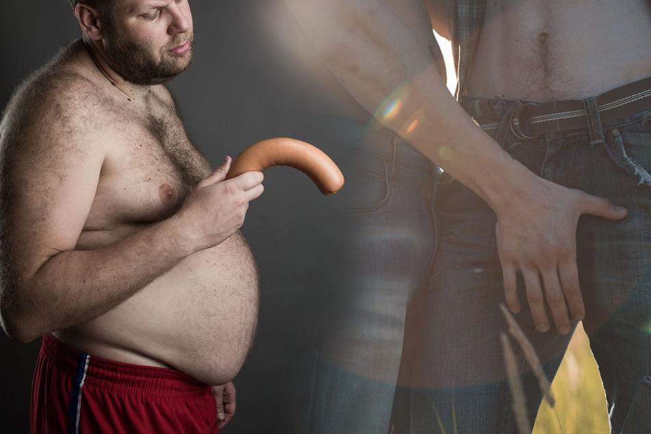 Penis Alter Mann