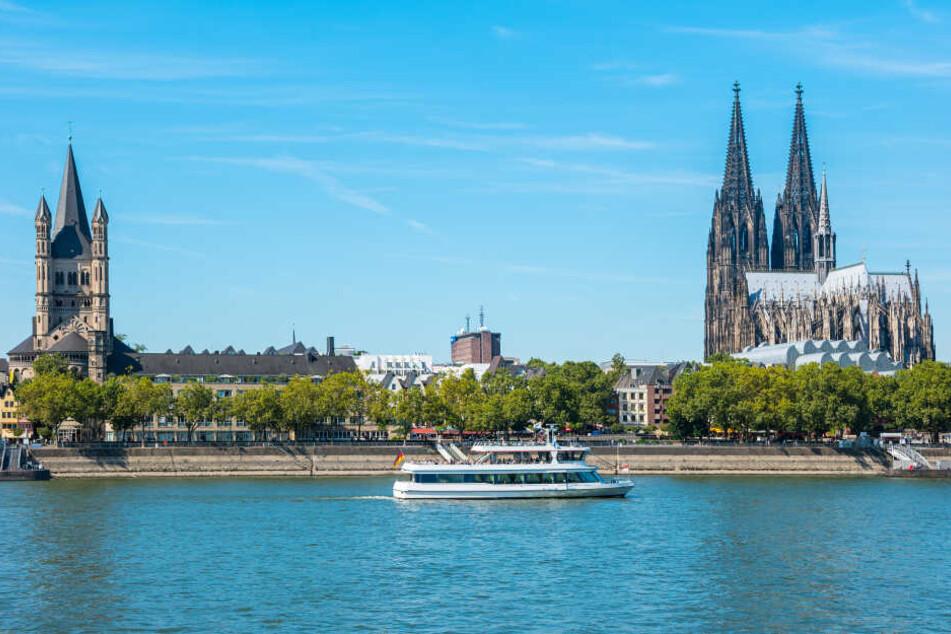 Über Köln ziehen am Wochenende ein paar Wolken auf.