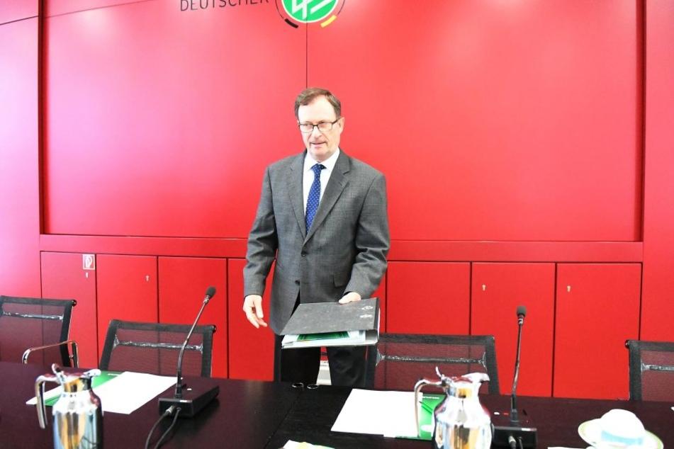 Hans E. Lorenz hat Erfahrung mit Dynamo: Er schmiss den Verein 2012 für die darauffolgende Saison aus dem DFB-Pokal.