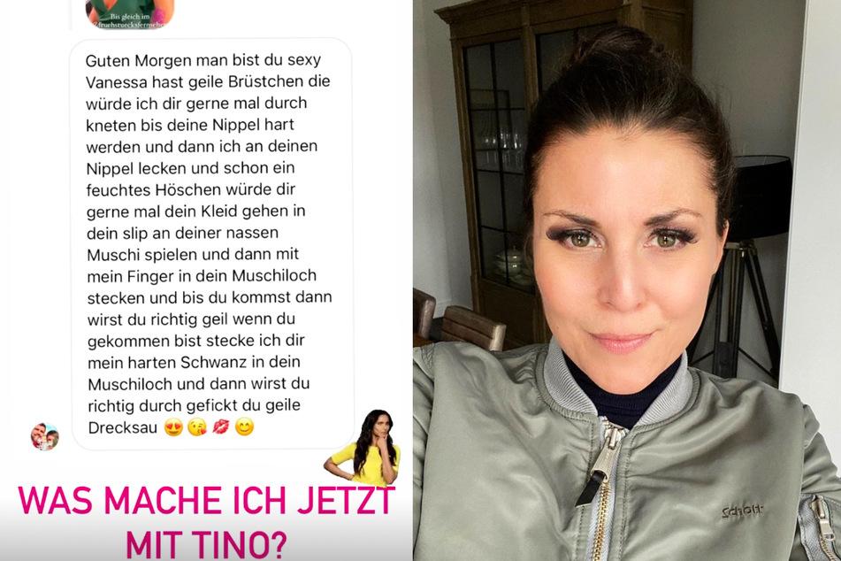 """Vanessa Blumhagen kriegt erneut widerliche Nachricht: """"Du geile Drecksau"""""""