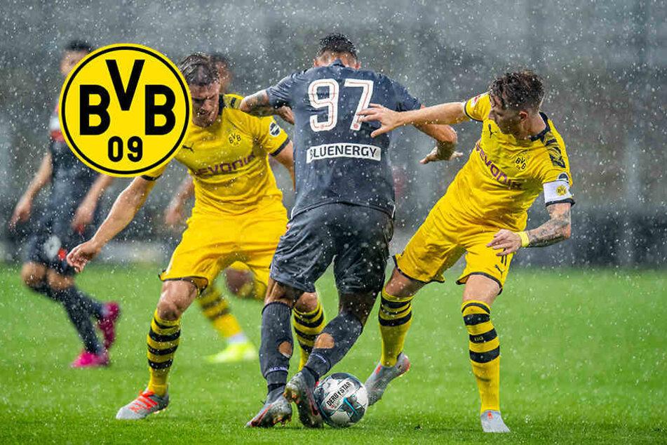 BVB glänzt bis zum Spielabbruch: Nur eine Personalie trübt die Stimmung