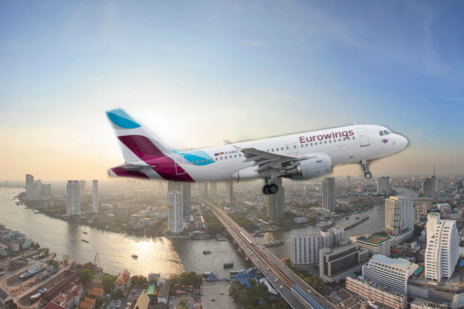 Eurowings fliegt bald von der Landeshauptstadt nonstop in die asiatische Mega-Metropole Bangkok.