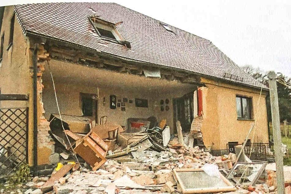 Das Haus, das einst der Oma von Martin S. gehörte, wurde völlig demoliert.