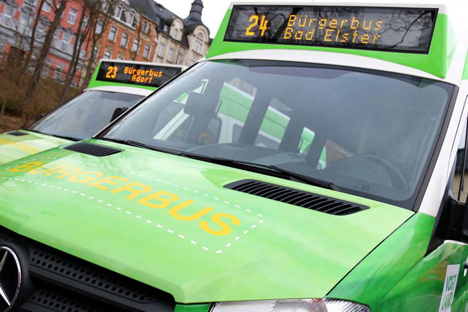 Seit einem Jahr fahren die Bürgerbusse im Vogtland.