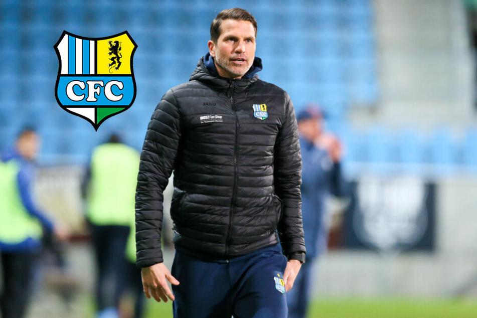 """CFC-Coach Glöckner fordert vorm Löwen-Duell: """"Mit viel Mut ins letzte Drittel!"""""""