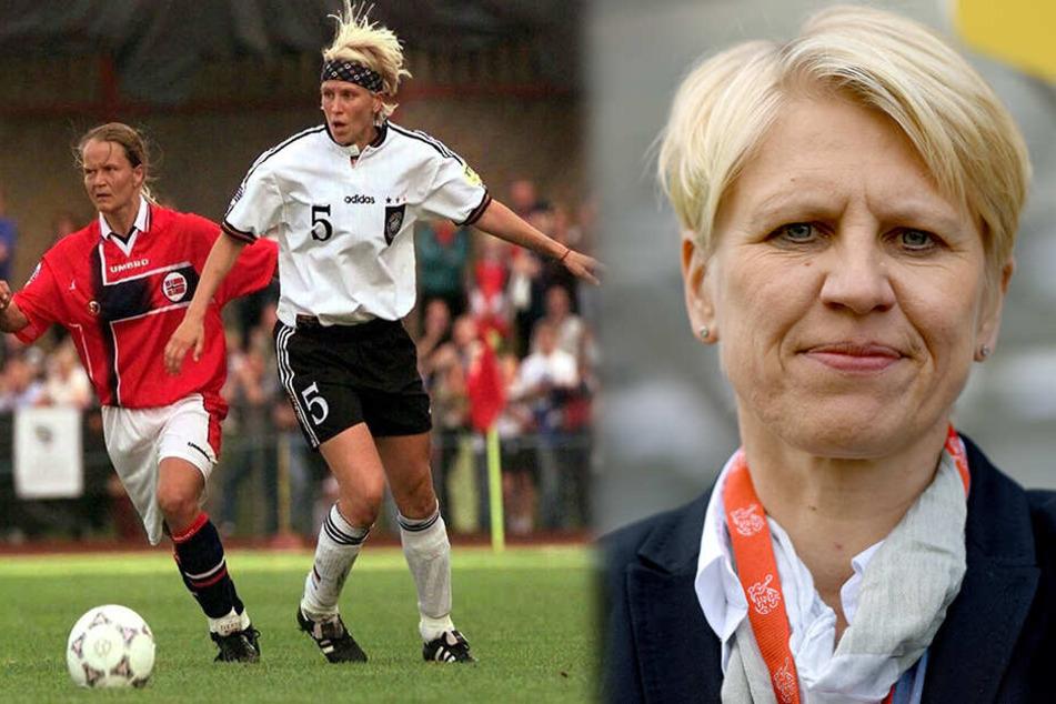 So steht es um die Ex-DFB-Spielerin Fitschen im Kampf gegen den Tumor!