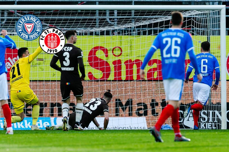 Störche für den FC St. Pauli eine Nummer zu groß: Kiezkicker gehen in Kiel unter!