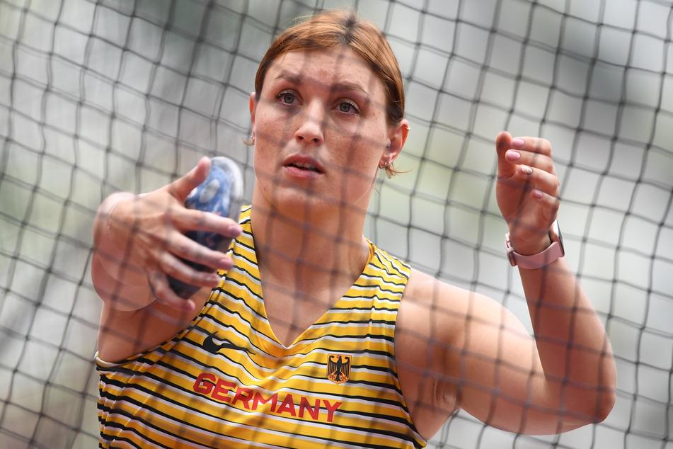 Die deutsche Diskuswerferin Kristin Pudenz (28) hat den Einzug ins Finale geschafft.