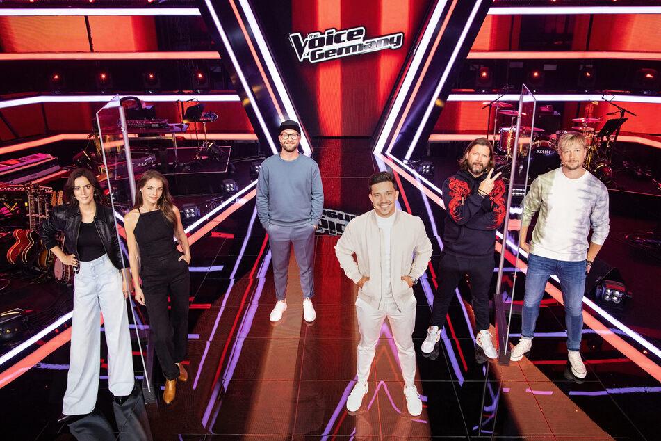 """Die Jury bei """"The Voice of Germany""""."""