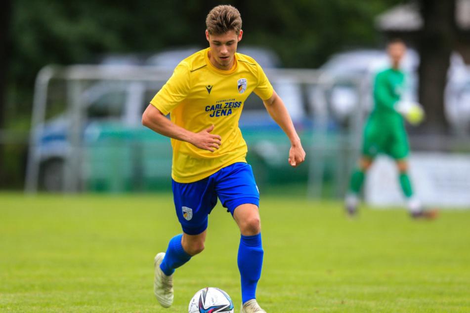 Das Training hat sich gelohnt. Marcel Hoppe wechselt zum FC Carl Zeiss Jena.