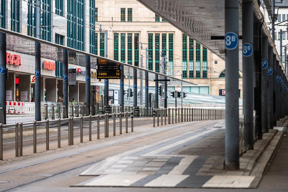 Chemnitz: Zenti menschenleer! So hart traf der ver.di-Streik die Chemnitzer City