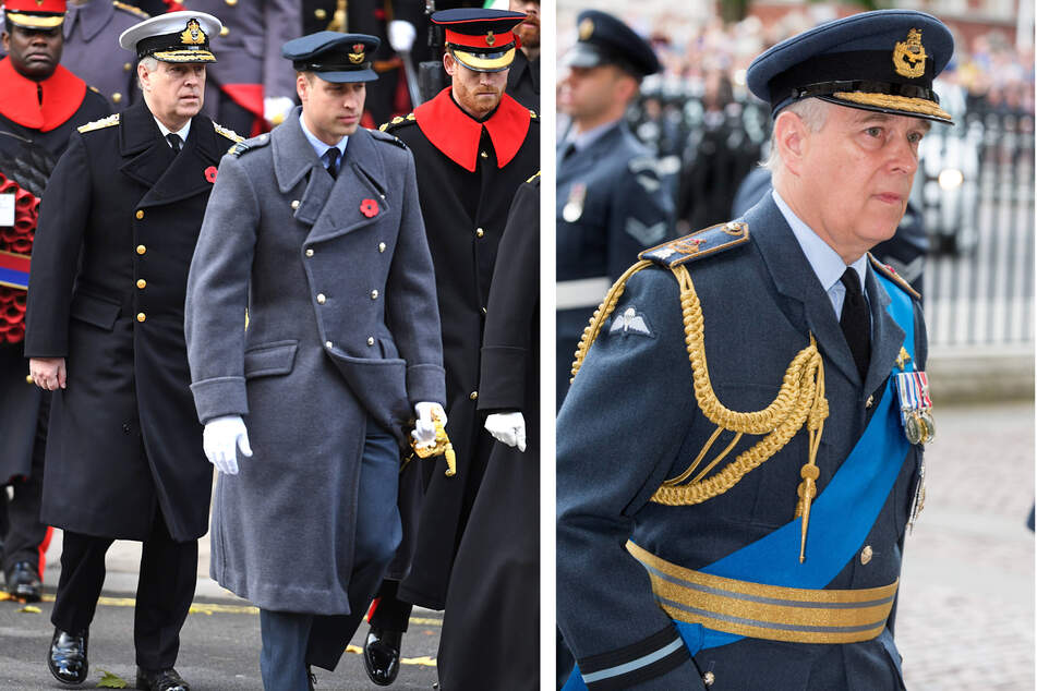 Prince Andrew is pushing the Queen to give him military promotion ahead of Philip's funeral