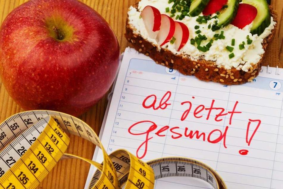 Endlich gesund essen? Viele nehmen sich zum Jahresanfang etwas vor.
