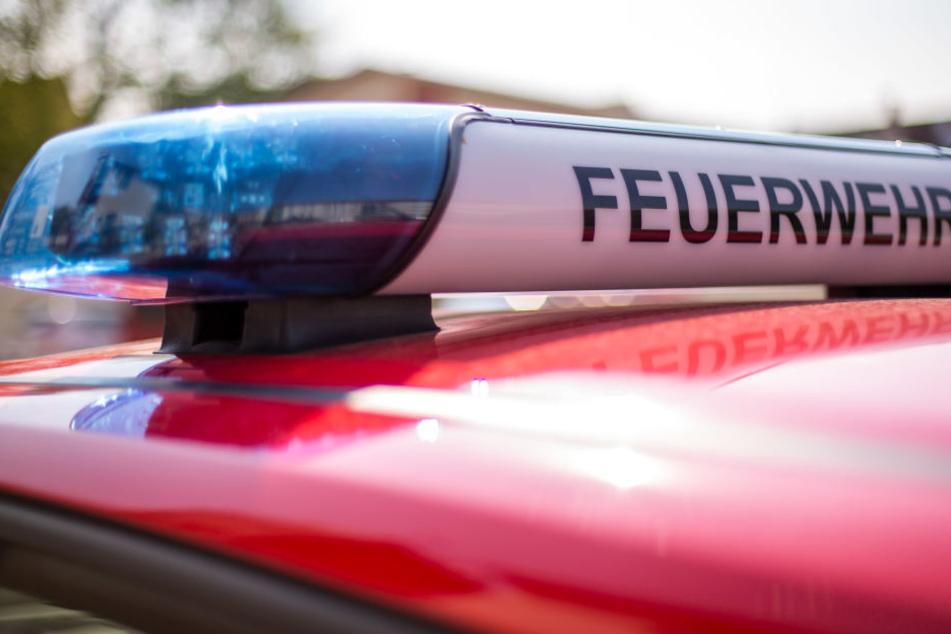 Die Feuerwehr rückte Freitagmorgen nach Großpösna wegen eines Gaslecks aus. (Symbolbild)