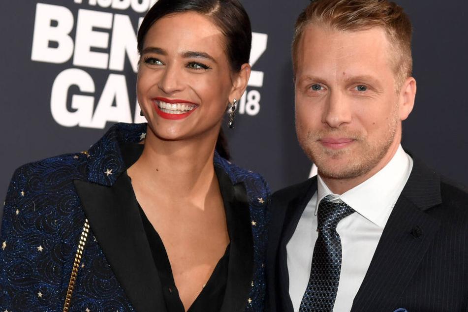 Amira Pocher (27) und Oliver Pocher (41) wurden am 11. November Eltern eines Sohnes.