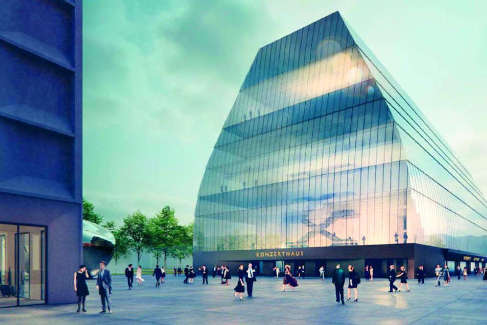 Das Konzerthaus in München soll nach aktuellem Stand circa 300 Millionen Euro kosten.