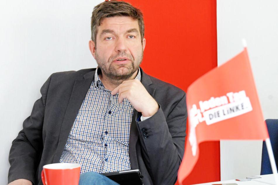 """Linken-Chef Jens Matthis (53) warnt vor übertriebenen Erwartungen an den finanziellen """"Erfolg"""" der Kliniken."""