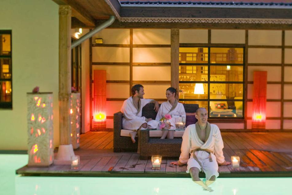 Rund 180 Mitarbeiter arbeiten derzeit für die Bali Therme.