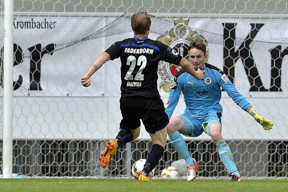 Im Westfalenpokal siegten die Paderborner gegen Lotte.