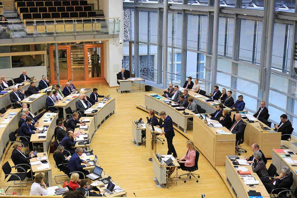Derzeit scheinen Politiker und Mitarbeiter im Landtag von Sachsen-Anhalt nicht arbeitsfähig zu sein. Experten durchsuchen die Rechner dort nach einem Trojaner.