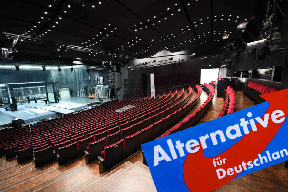 """Im Schauspiel Frankfurt wurde die neue Spielzeit mit dem Stück """"Richard III."""" eingeläutet. (Fotomontage)"""