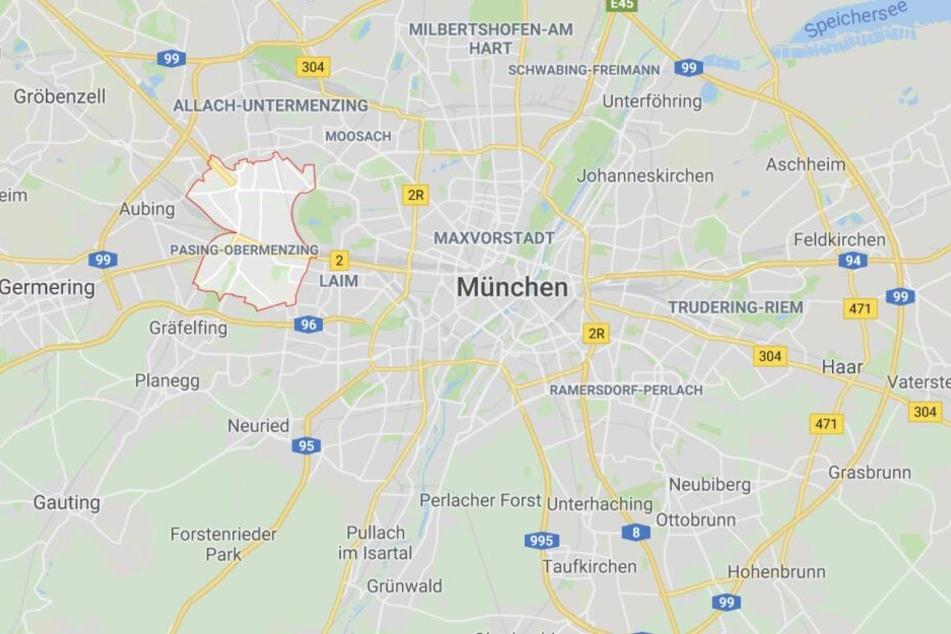 Im Münchner Stadtteil Pasing ist es am Dienstagabend zu einem schrecklichen Unfall gekommen.