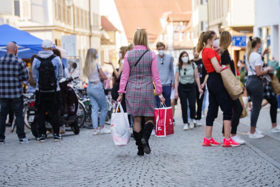 In Tübingen erlauben negative Corona-Tests Shopping und mehr.