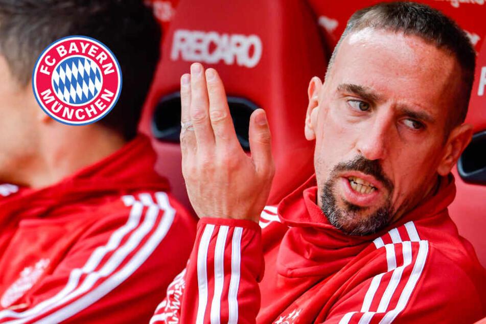 FC Bayern unter Zugzwang: Franck Ribéry warnt den Rekordmeister