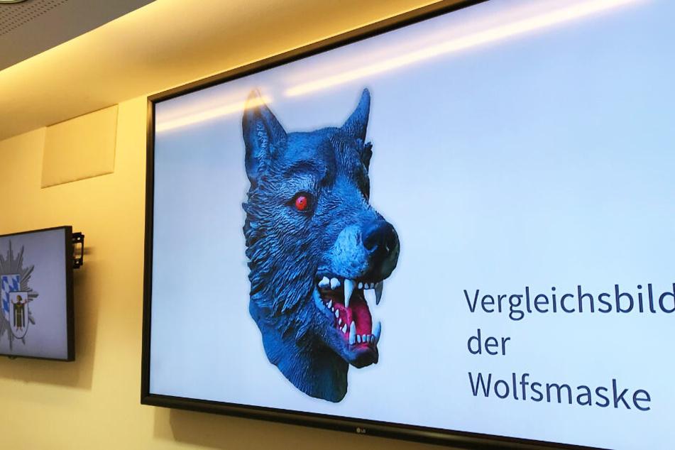 Ein Mann mit Wolfsmaske hat im Juni ein kleines Mädchen vergewaltigt.