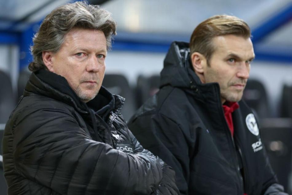 Carsten Rump (r.) musste zusammen mit Trainer Jeff Saibene den Verein verlassen.