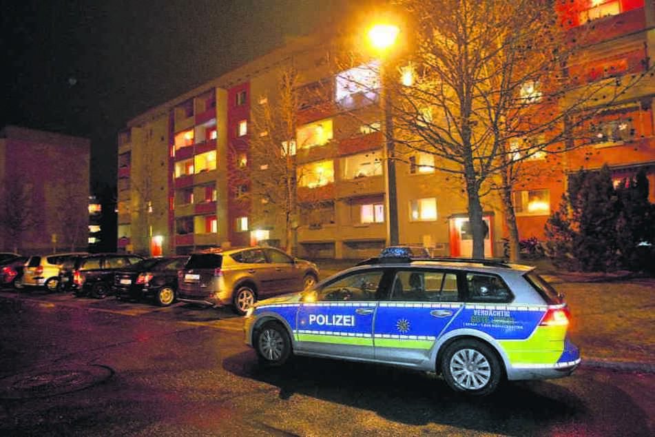 Wegen einer Messerstecherei zwischen Eheleuten rückte die Polizei nach Copitz aus.