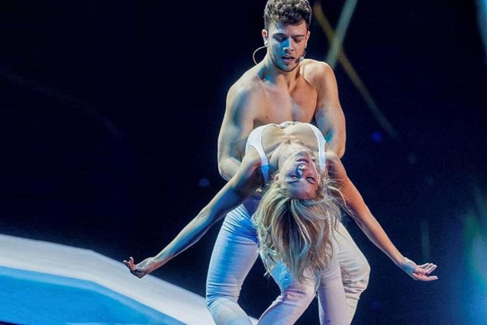 Diese Show-Einlage sorgte mächtig für Wirbel: Helene und Luca ganz nah...