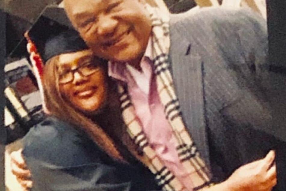 Mit diesem Bild trauert Foreman auf Twitter um seine Tochter.